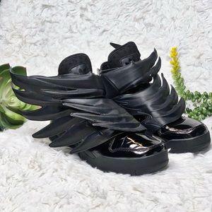Adidas x Jeremy Scott Wings 3.0 Dark Knight Shoes